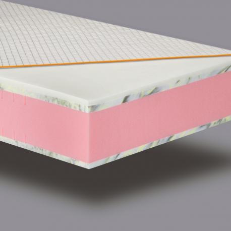 OPTIMISTAS - kietas komfortiškas čiužinys 22 cm