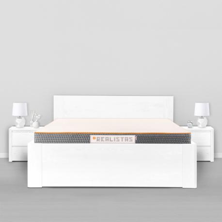 REALISTAS - vidutinio kietumo komfortiškas čiužinys